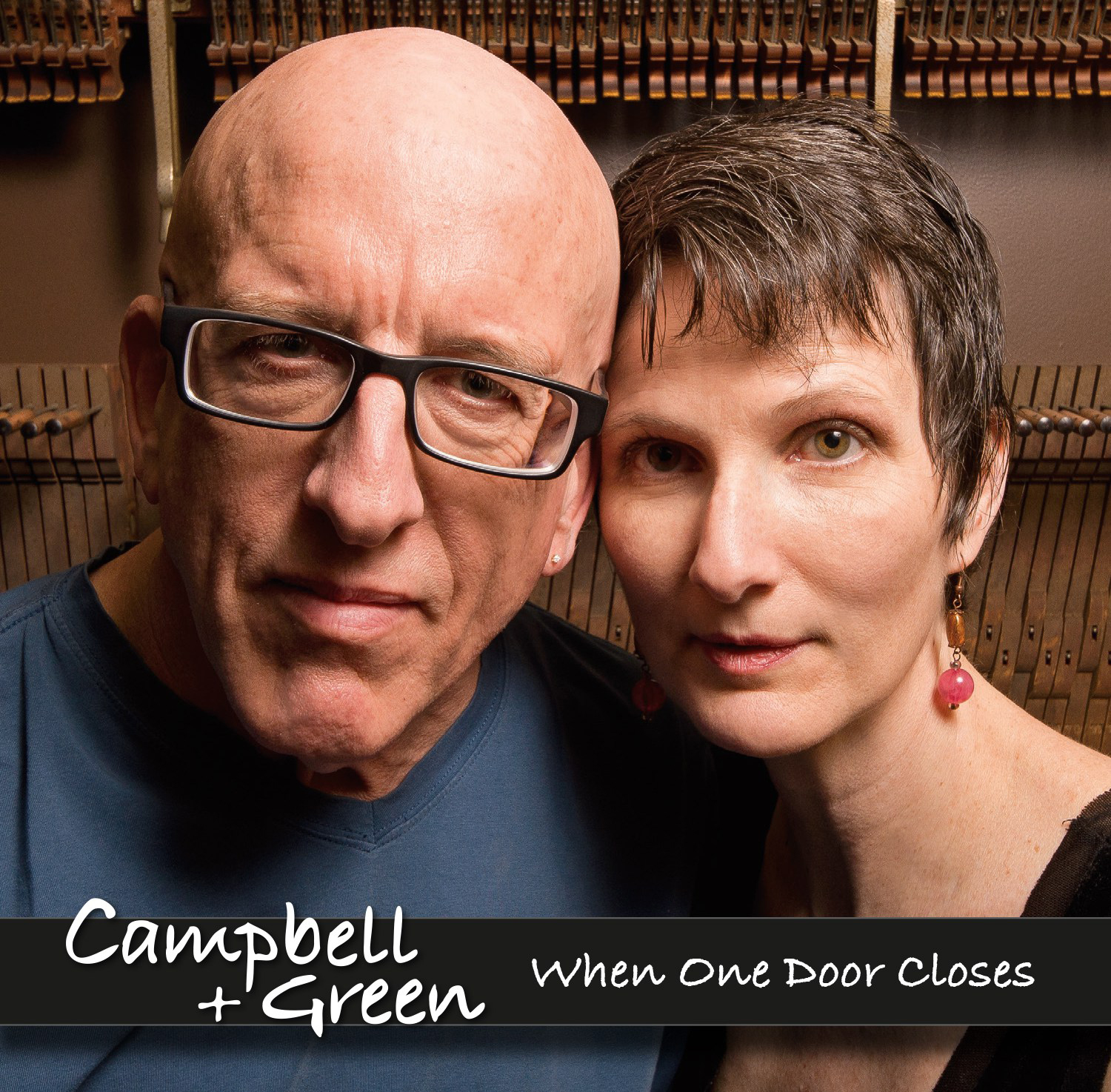 CD cover for the new Campbell & Green release.