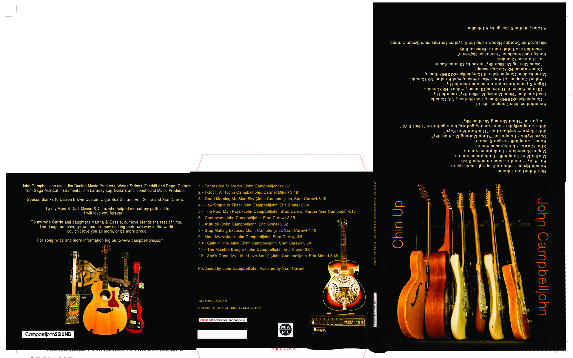 All photography, art work and design for the 2015 ECMA Blues CD of the year by John Campbelljohn.