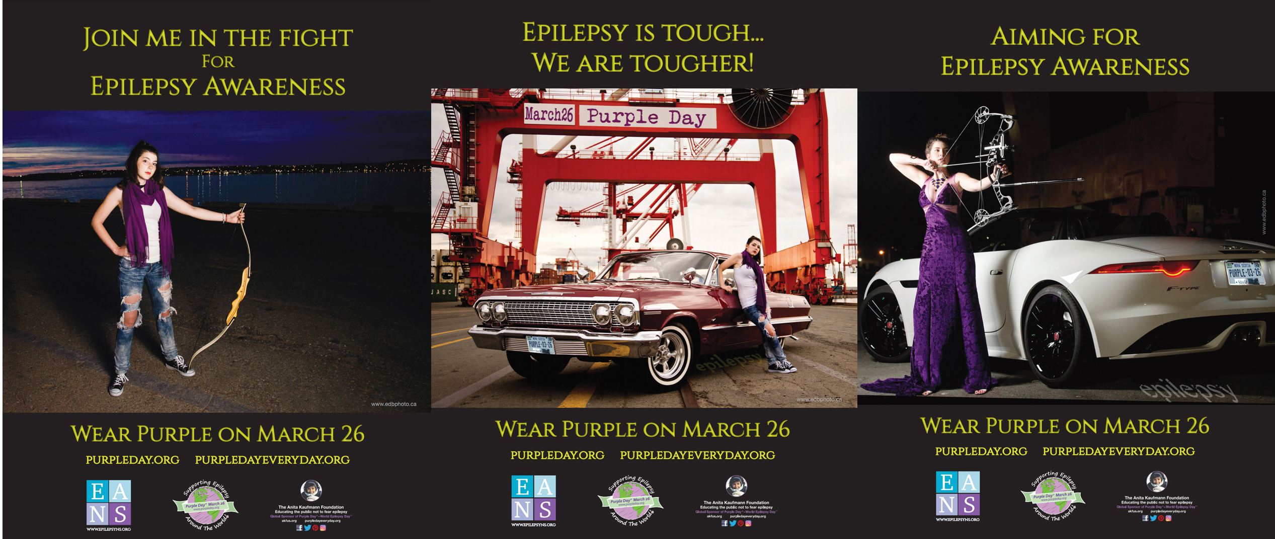 2017 Marketing Campaign for Purple Day